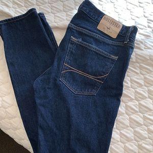 Hollister Dark Wash Jeans Mens 32 X 32